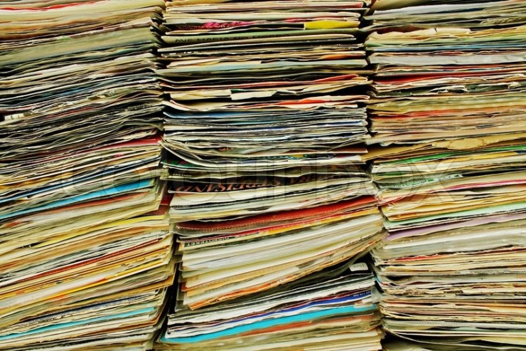 review copies blog post stock photo