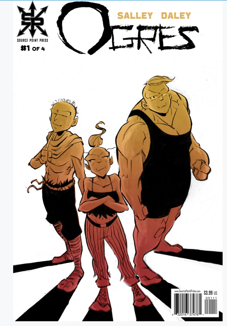 Ogres 1 Cover