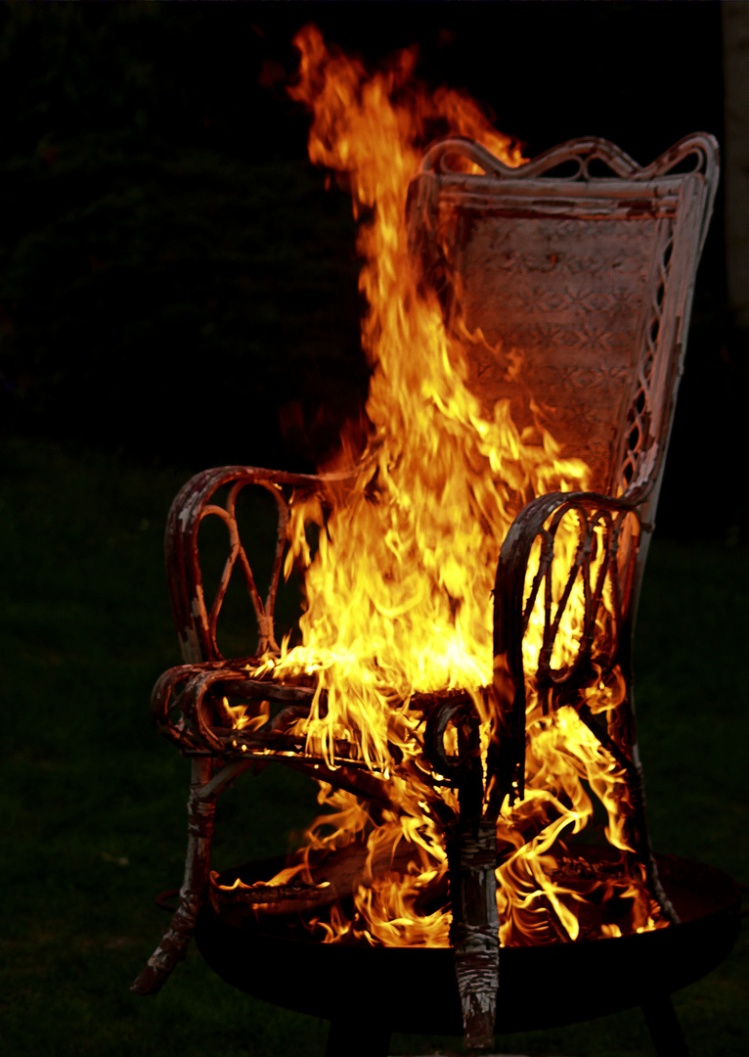 hot seat post art