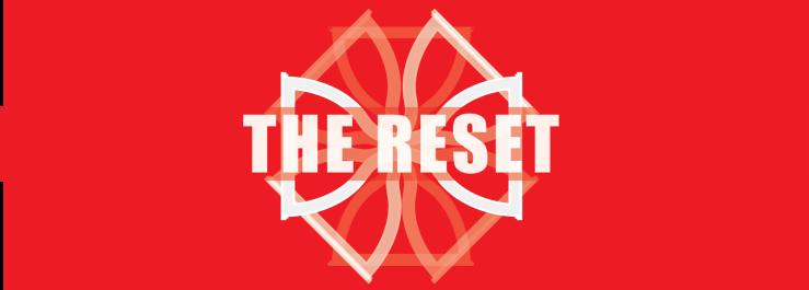 Reset Logo Red BG